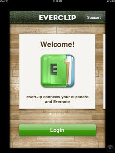 EverClip: Great Little Utility App for Evernote Users: EverClip is the easiest way to collect websites, texts and images to Evernote. Start EverClip and switch to your favorite apps. Copy any texts and images, EverClip will save these clippings in background. When you finish your work, return to EverClip. Organize clippings freely and send them to Evernote.