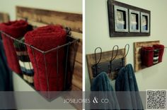 3. #Pallet Storage - 7 #Clever Ways to Upcycle Baskets ... → DIY #Baskets