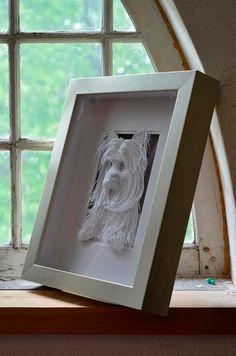 Las impresionantes esculturas de papel de Calvin Nicholls | TodoGraphicDesign