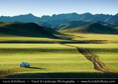 Asia - Mongolia - Монгол улс - Land of Vast Steppes & Kind Nomads - Saikhan Mountains of southern Mongolia - Mongolian way to travel - Life on Off Road