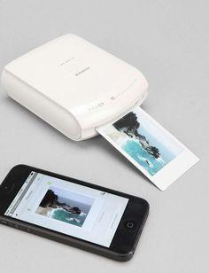 Smart Phone Printer Tech Gift Guide | Remodelista