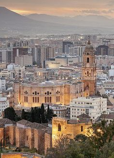 Authentic centre: Malaga is famed for being a truly Spanish city, rather than just a touri...