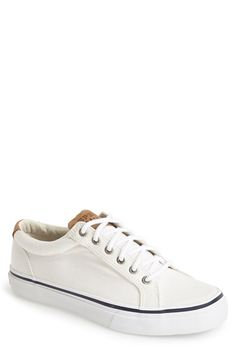 Free shipping and returns on Sperry Top-Sider® 'Striper LTT' Sneaker (Men) at Nordstrom.com. Breathable canvas shapes a lightweight sneaker touched with cool nautical detailing for a charming look.