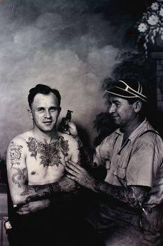 Bert Grimm Vintage American Tattoos
