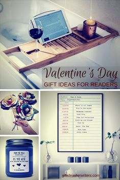 Romantic, fun, and personal Valentine's Day gifts for readers and bookworms. These are perfect for any book lover. Better than regular flowers and candy.