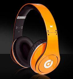 Beats By Dre, Studio, Orange Studio Headphones, Beats Headphones, Over Ear Headphones, Beats Pill, Beats By Dre, Orange, Bing Images, Funny Memes, Audio