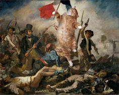 Historical Paintings Made Better with Fat Cats - BlazePress