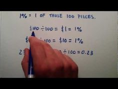 Percentages , Intermediate Algebra , Lesson 13