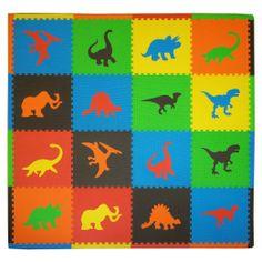 Amazon.com: Tadpoles Dino Playmat Set: Baby