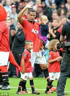 Man Utd 1 - 3 Sevilla (10 August 2013, Old Trafford).  Rio Ferdinand Testimonial