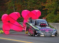 NHRA Alexis DeJoria: Drag Racing and Mammograms