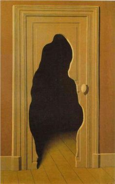 The Unexpected Answer - Rene Magritte - 1933     Gallery: Musée René Magritte, Brussels, Belgium