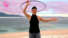 Four Cool Transitions - On To Body Hula Hoop Moves - She's an amazing teacher!