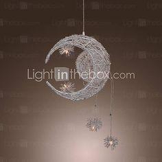 nursery [USD $ 114.99] Moon Star Featured Pendant Light with 5 Lights