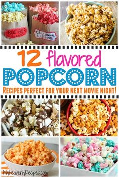 When you think of movie night you instantly think popcorn, right? If so, come on in and check out these flavored popcorn recipes with me! There's nothing more comforting at movie night than popcorn. Popcorn Snacks, Candy Popcorn, Gourmet Popcorn, Popcorn Bar, Oreo Popcorn, Homemade Popcorn Seasoning, Homemade Flavored Popcorn, Popcorn Flavor Recipes, Pop Corn