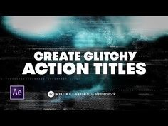 In this After Effects tutorial, learn how to add some eye-catching action-style glitch effects to your text slates for your next movie trailer or hype reel.
