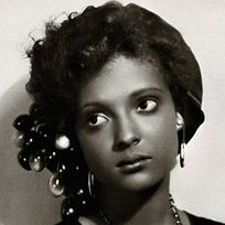 "Nina Mae McKinney (June 13, 1912 - May 3, 1967) was an American actress. Dubbed ""The Black Garbo"" when she worked in Europe, she was one of the first African-American film stars and was one of the first African-Americans to appear on British television."
