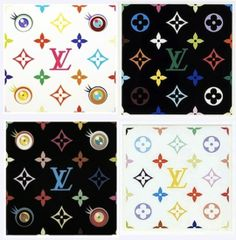 This is what happens when #LouisVuitton and Japanese artist Takashi Murakami collaborate ..
