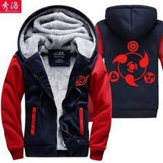 Men's Cosplay Anime Lit Zip Jacket Hoodie - Many Colors