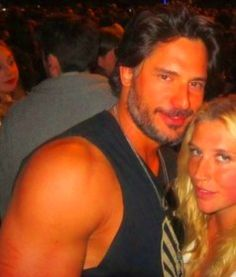 Joe Manganiello & Kei$ha @ Coachella