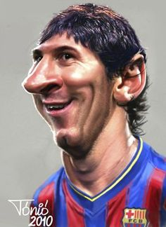 Caricature Messi Caricature Artist, Caricature Drawing, Funny Caricatures, Celebrity Caricatures, Cartoon Faces, Funny Faces, Funny Picture Quotes, Funny Pictures, Comic Face