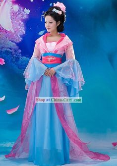 Fairy Costumes For Women | Ancient Chinese Fairy Costume and Hair Accessories for Women
