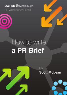 Public Relations   How to write a PR brief