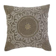 Signature Design by Ashley Medallion Dark Gray Pillow Cover 59