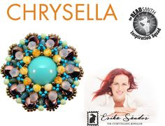 Chrysella ring / brooch / pendant tutorial instant dowload