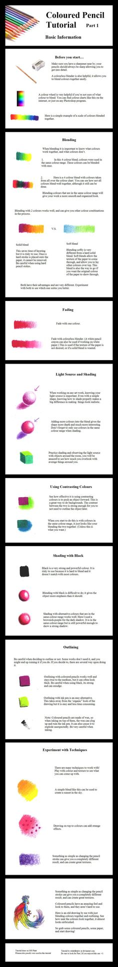 This is a tutorial on how to blend colors with colored pencils. This is the way I do it, I'm sure there's plenty of methods on how to do this. Xhaerithia asked me how do I paint so here it is If th...