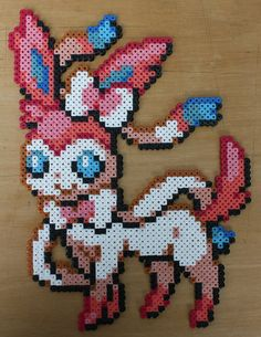 Pokemon - Sylveon Bead Sprite by strepie93