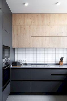 Luxury Modern Kitchen Design Ideas To Inspire. Here are the Modern Kitchen Design Ideas To Inspire. This post about Modern Kitchen Design Ideas To Inspire was posted Kitchen Cabinets Decor, Cabinet Decor, Home Decor Kitchen, Kitchen Furniture, New Kitchen, Kitchen Ideas, Kitchen Sinks, Family Kitchen, Unique Furniture