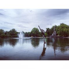Victoria Park, London.