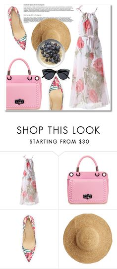 """""""#12"""" by aida-nurkovic ❤ liked on Polyvore featuring Ivanka Trump, Flora Bella and Le Specs"""