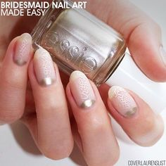 Are you getting #married this #summer? So you have everything planned? What about the #mani for the #bridesmaids? Check out our #wedding #inspiration for your big day! ��LINK IN BIO������ #Nailart by @laurenslist http://gelinshop.com/ipost/1518921902969491926/?code=BUUS2xUDpHW