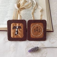Cruz Tau, Francis Of Assisi Prayer, Catholic Art, St Francis, Macrame, San Francisco, Patches, Etsy, Beautiful