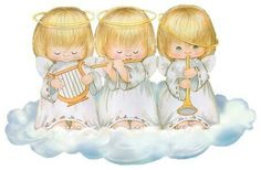 ¡¡¡¡MUSICOS CELESTIALES!!!! Vintage Christmas Cards, Christmas Carol, Christmas Pictures, Christmas Angels, Angel Pictures, Cute Pictures, Christmas Drawing, Pintura Country, Angel Cards