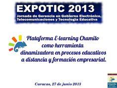E-LEARNING, HERRAMIENTA DINAMIZADORA.