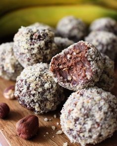 Healthy Sweets, Healthy Snacks, Fika, Lchf, Food And Drink, Gluten Free, Candy, Vegan, Cookies
