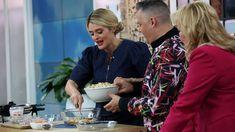 Daphne Oz puts a healthy twist on two classic recipes Daphne Oz, Dr Oz, Interview, Pasta, Bread, Breakfast, Healthy, Classic, Dr. Oz