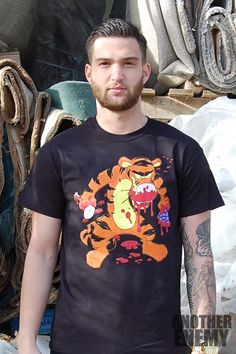 Zombie Tiger in Black - $32.00 - www.AnotherEnemy.com - Another Enemy