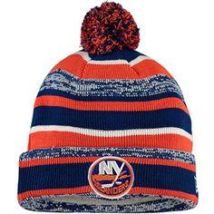 9e1b376316430d New York Islanders Cuffed Knit Hats New York Islanders, Pom Pom Hat, Knit  Hats
