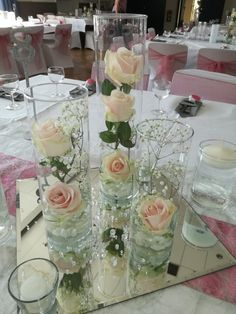 Hochzeitsblumen Dekoration Tisch Décoration de table de mariage of fuer wedding [post_tags Best Picture For diy wedding tips For Your Taste You are looking for something, and it is going to tell you e Floral Centerpieces, Table Centerpieces, Wedding Centerpieces, Floral Arrangements, Wedding Arrangements, Floral Wedding, Rustic Wedding, Wedding Reception, Wedding Flowers