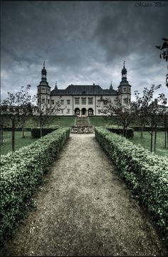 Kielce palace, Poland--- this explains my fascination with things haunted & vampires.