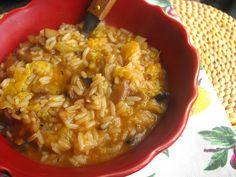 As receitas lá de casa: Arroz de cogumelos para o almoço... receita Bimby