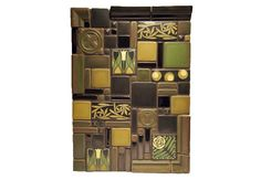 craftsman style tiles | Arts & Crafts style tile mosaic | Inspiration Central