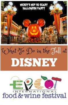 What to do in Disney in the Fall. A Halloween party in Disney would be so much fun!!