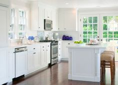 Nantucket, Ma. - traditional - kitchen - Other Metro - Beach Glass Interior Designs