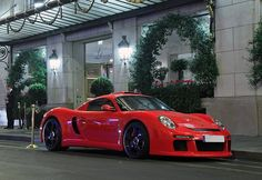 red Porche like the one Paul Walker drove the day he died :-( I miss him soooooo much it's crazy I can't even imagine how his daughter Meadow feels she's the same age as me I just want to hug her and tell her it's gonna be alright I remember the day he died like it was just yesterday me and my best friend both cried then I told my sister and she cried and then I told my dad and mom and they where SHOCKED he was a Christian so he's with God now RIP Paul can't wait to meet you