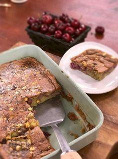 Ma recette de gâteau cerises-pistaches - Laurent Mariotte